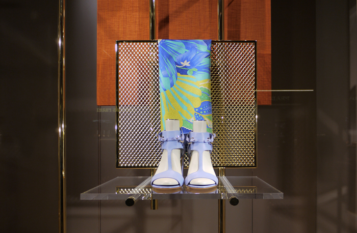 salvatore ferragamo SS windows 2015 lostudiodesign