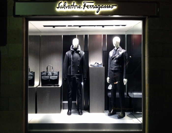 salvatore ferragamo fashion show milano 2013