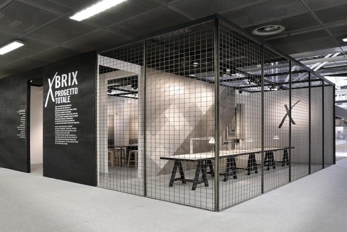 brix stand cersaie 2014 lo studio design
