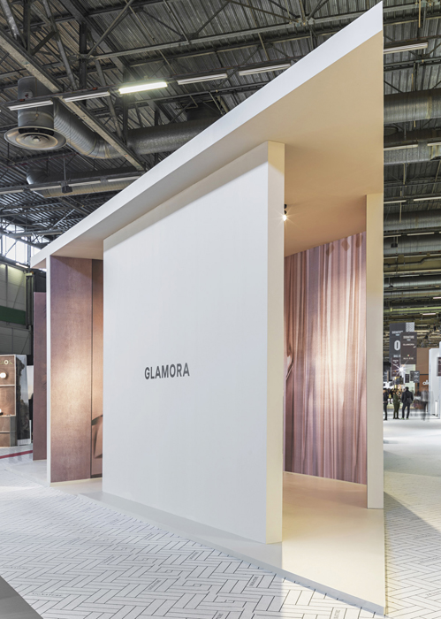 Glamora stant at Maison & Objet 2019, Paris Villepinte, France.